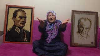 Konyalı Cumhuriyet Kadını - Kebiz KUŞ - Bayrak Şiiri