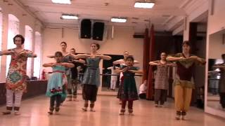 Kathak Lesson - Basic movements and tukra