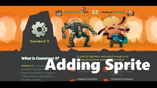 Construct2 Tutorial 4: How to add sprite in Construct 2