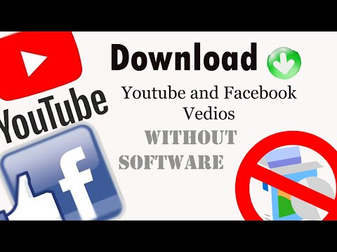 Download Video Facebook/YouTube | How to download  Facebook/YouTube Video in PC and Phone (2020)