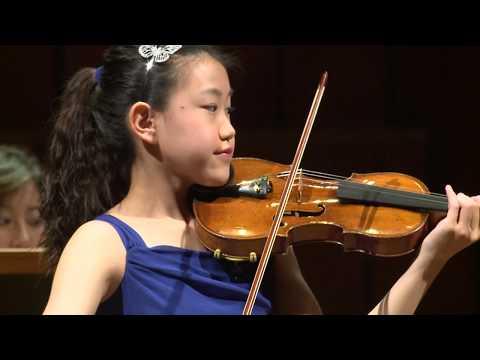 CLARA SHEN  Menuhin Competition 2018 Junior finals