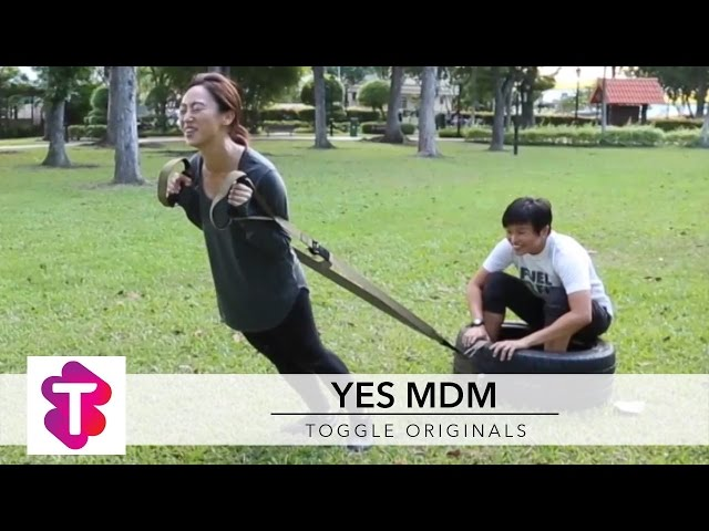 How to train like a female officer ??????? (Yes Mdm ??????)