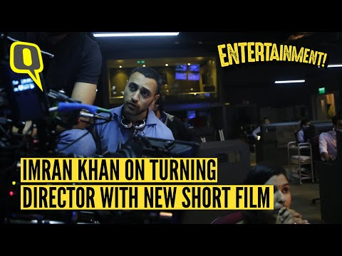Imran Khan on turning director with his short film 'Mission Mars' and why he doesn't miss acting.