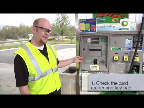 How to spot a gas pump skimmer