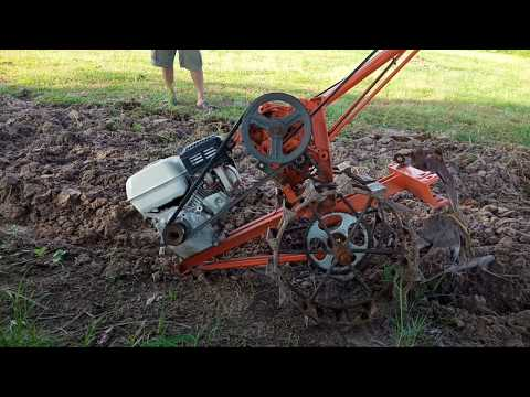 Home made tractor.