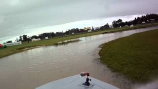 Twin Turbo Nissan V8 Jet Sprint Boat - Featherston