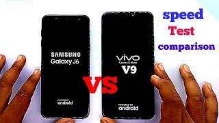 Samsung Galaxy J6 vs VIVO V9 speed test comparison