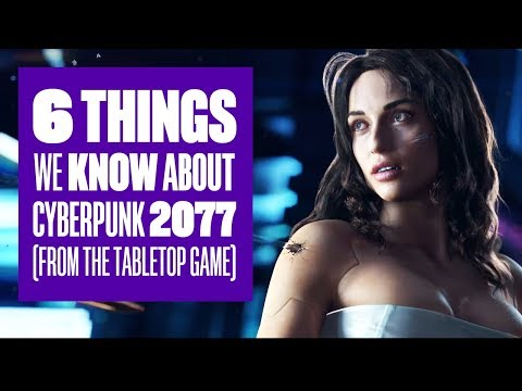 6 Things We Know About Cyberpunk 2077 (From The Tabletop Game) streaming vf