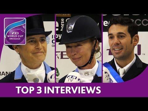Winning Interviews - Odense - FEI World Cup™ Dressage 2016/17