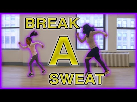 Heaven and Tianne Dance Tutorial - Break a Sweat
