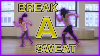 Heaven and Tianne Dance Tutorial - Break a Sweat