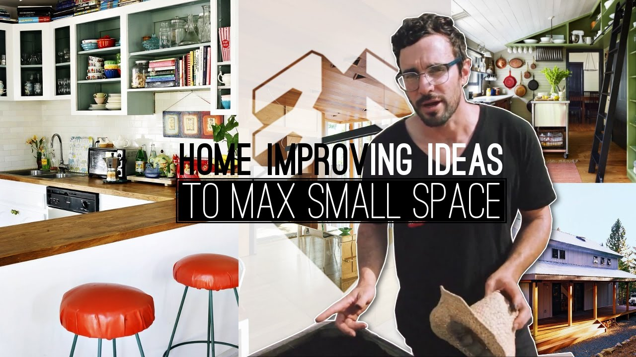 33 Home improvement ideas for small space - YouTube