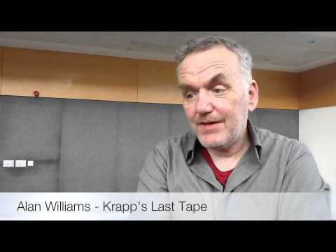 deconstruction krapps last tape The stage play krapp's last tape evolves a shattering drama out of a monologue of a man who, at age sixty-nine, plays back the autobiographical tape he recorded on his thirty-ninth birthday.