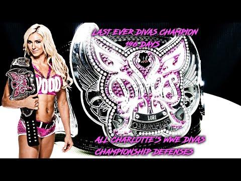 All Charlotte's Divas Championship Defenses
