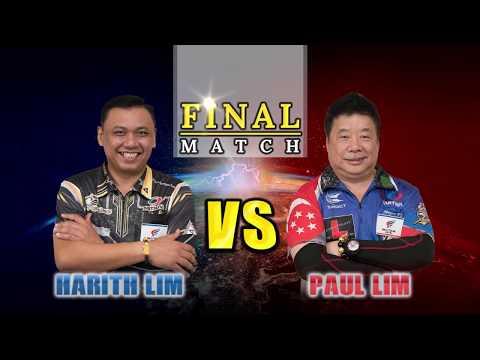 【Paul Lim VS Harith Lim】SEA TOUR 2018 STAGE 1 SINGAPORE | FINAL MATCH