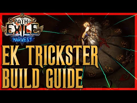 Download EK Trickster - Very Fast Clear Speed Build Guide - Path of Exile Harvest