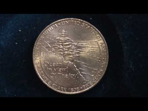5 Cent Ocean View- Jefferson Nickel dated 2005