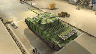World Of Tanks Blitz Game Play (Centurion Mk.1) v4.2.1