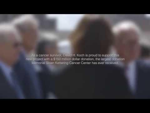 David Koch Announces Record Gift to Cancer Center