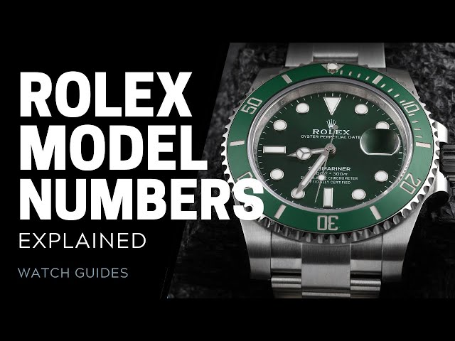 Rolex Reference Numbers Explained | SwissWatchExpo