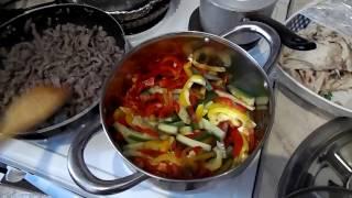 """салат """"Чим-Чим"""" мясо с огурцом  по корейски"""