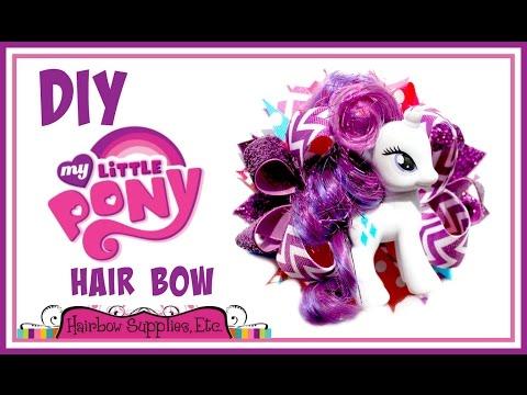 DIY My Little Pony Hair Bow - Hairbow Supplies, Etc.