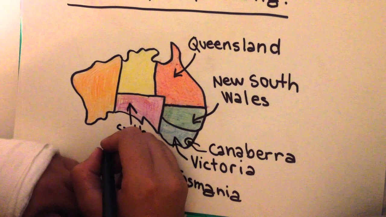 Map Of Australia Youtube.The Map Of Australia