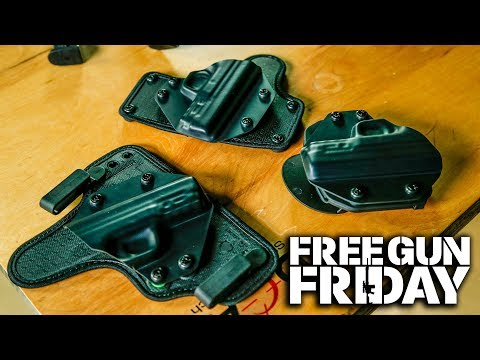 January Free Gun Friday | Closer Look At the Alien Gear Holsters | Episode 3