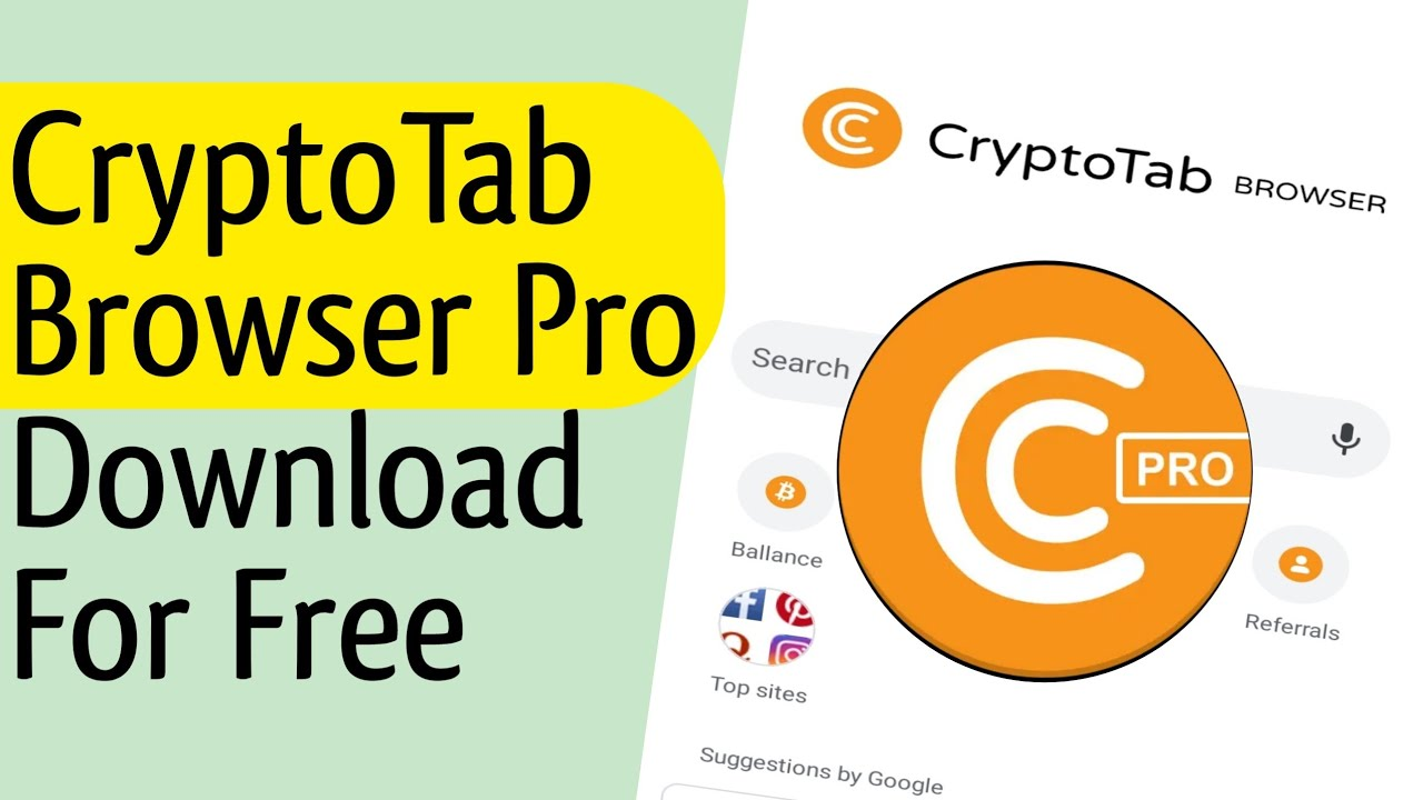 Cryptotab browser pro apk // cryptotab browser premium app free download -  YouTube