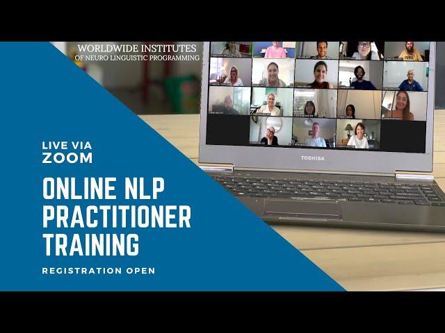 Online NLP Training - Live via Zoom