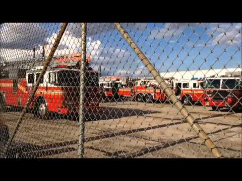 FDNY STORAGE LOT FOR FDNY TRUCKS THAT ARE BEING DELIVERED, FIXED, STORED OR RETIRED 2.