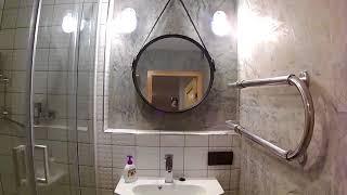 видео Влагостойкая декоративная штукатурка для ванной комнаты