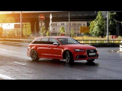 Audi RS6 Тест-драйв.Anton Avtoman