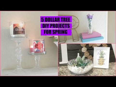 Dollar Tree DIY | Home Decor | Collab