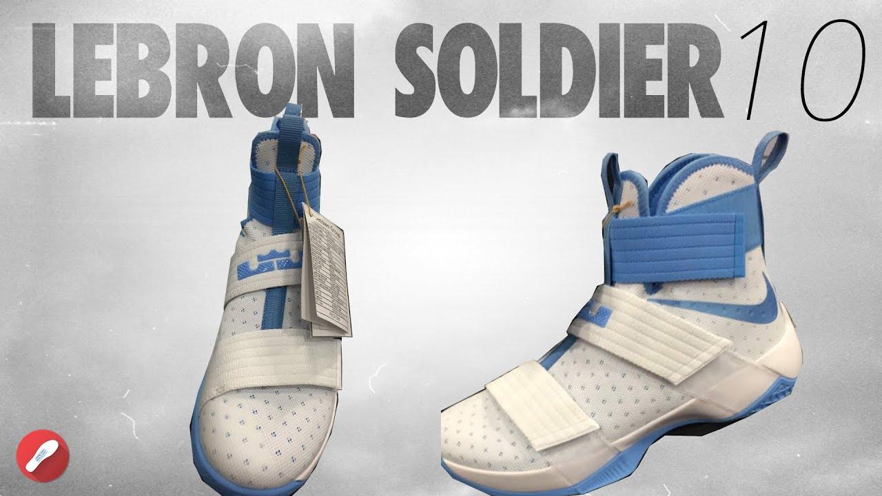60ce1e3edd2a Nike Lebron Soldier 10! Initial Thoughts! (leak) - YouTube