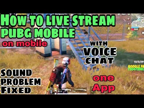 How To Live Stream PUBG Mobile With Voice Chat | By Aniket Khipal