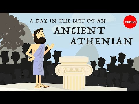 Video image: A day in the life of an ancient Athenian - Robert Garland