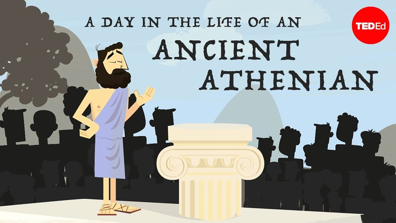 A day in the life of an ancient Athenian – Robert Garland