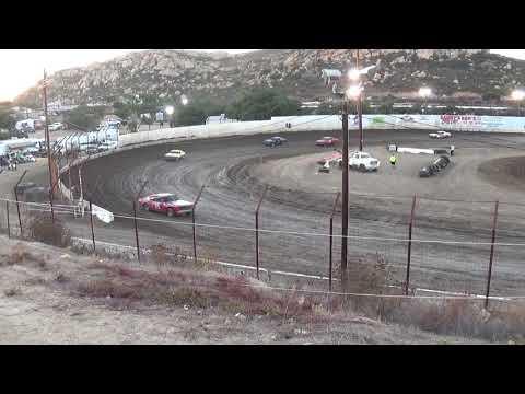 Barona Speedway Pure Stock Heat #1   10-21-2017