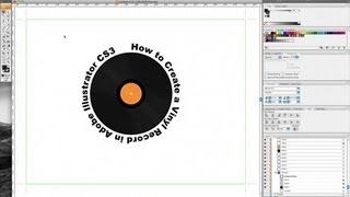 How to Create a Vinyl Record in Adobe Illustrator