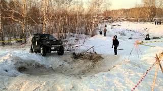 Джип-триал 12.2014 Челябинск. Экипаж 13