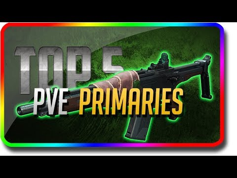 "Destiny 2 - ""Top 5 PvE Primary Guns"" in Black Armory (Destiny 2 Black Armory DLC ""Top 5"") thumbnail"