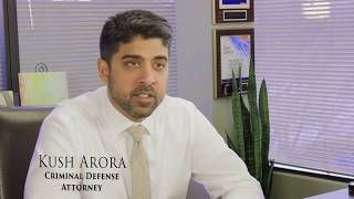 Kush Arora Attorney at Law | Maryland Criminal Lawyer