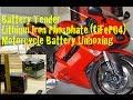BatteryTender Lithium Motorcycle Battery Unboxing - ZX6R NINJA