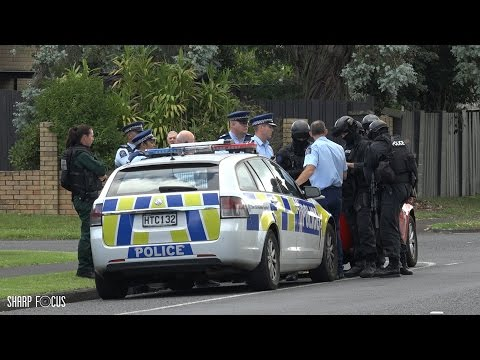 Police Shot at in an Incident in Manurewa