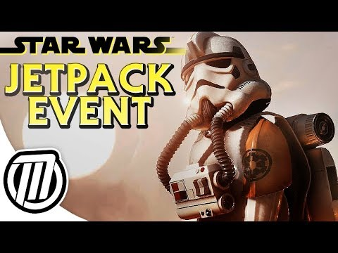 Star Wars Battlefront 2: JETPACK CARGO EVENT - Patch 1.2 Gameplay