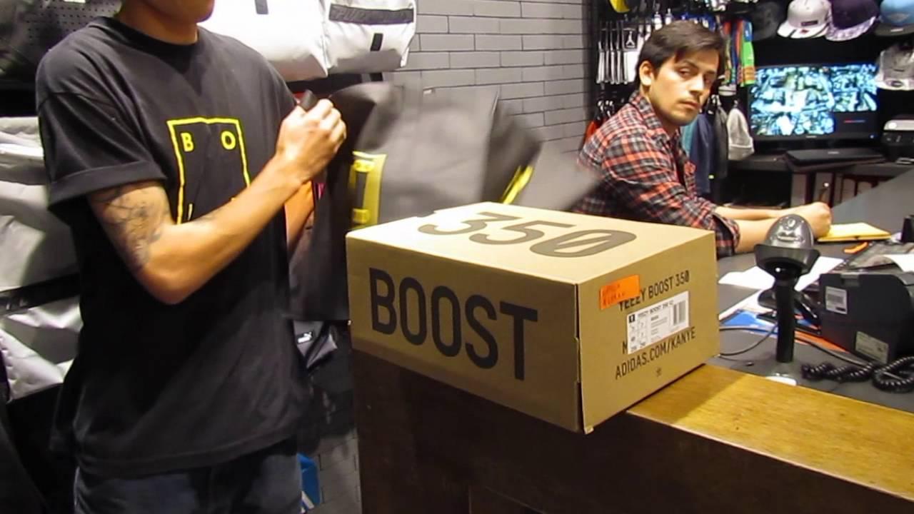Lanzamiento Adidas Yeezy Boost 350 V2 en Chile - YouTube d5ec673ff