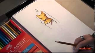 Урок 3. Рисуем одежду. Продолжение