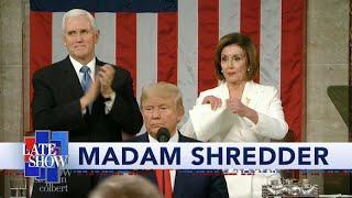 We Know Why Nancy Pelosi Tore Up Trump's Speech