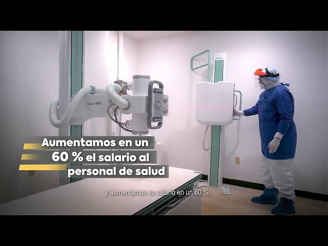 Aumento salarial al personal médico - Gobierno de Michoacán